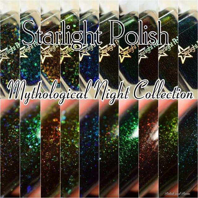 Mythological Night Polish and Paws